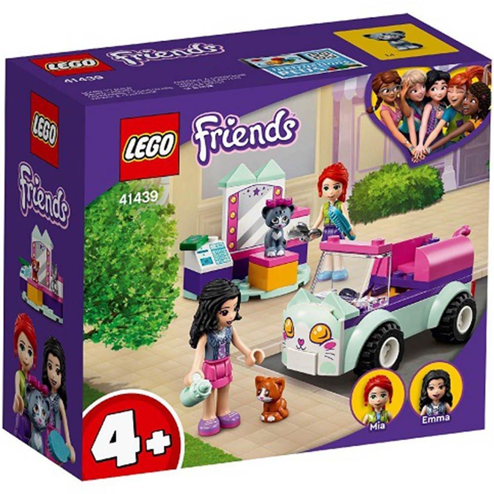 【2021.1月新品】LEGO 樂高積木 Friends 41439 貓咪美容車