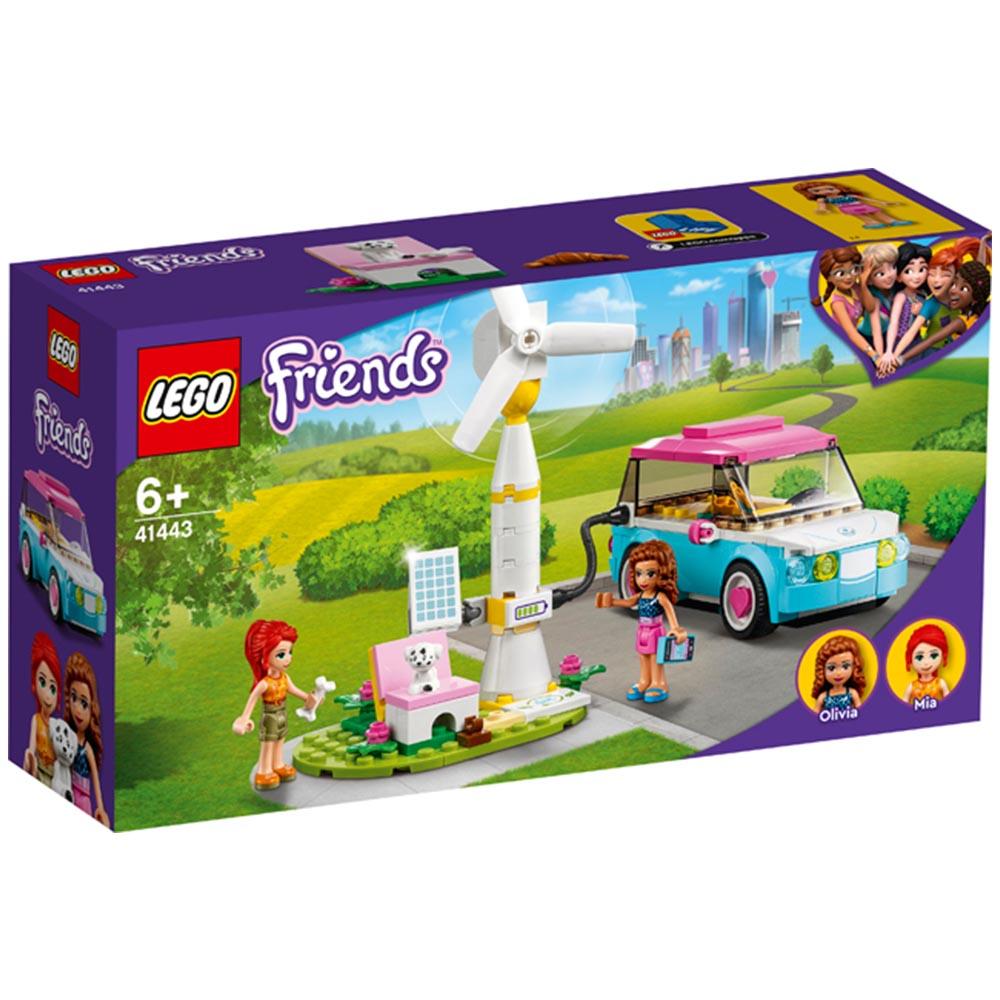 【2021.1月新品】LEGO 樂高積木 Friends 41443 奧麗薇亞的電動車