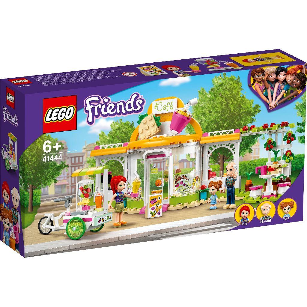 【2021.1月新品】LEGO 樂高積木 Friends 41444 心湖城有機咖啡廳