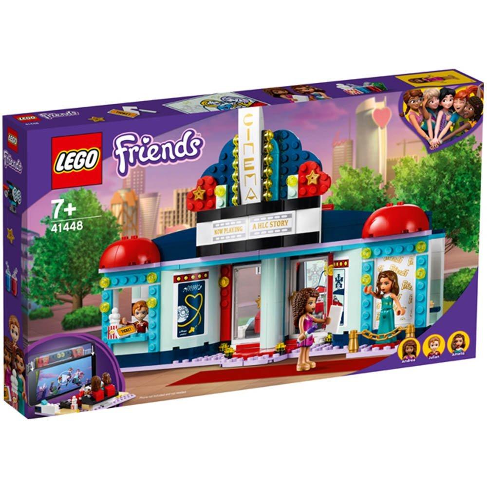 【2021.1月新品】LEGO 樂高積木 Friends 41448 心湖城電影院