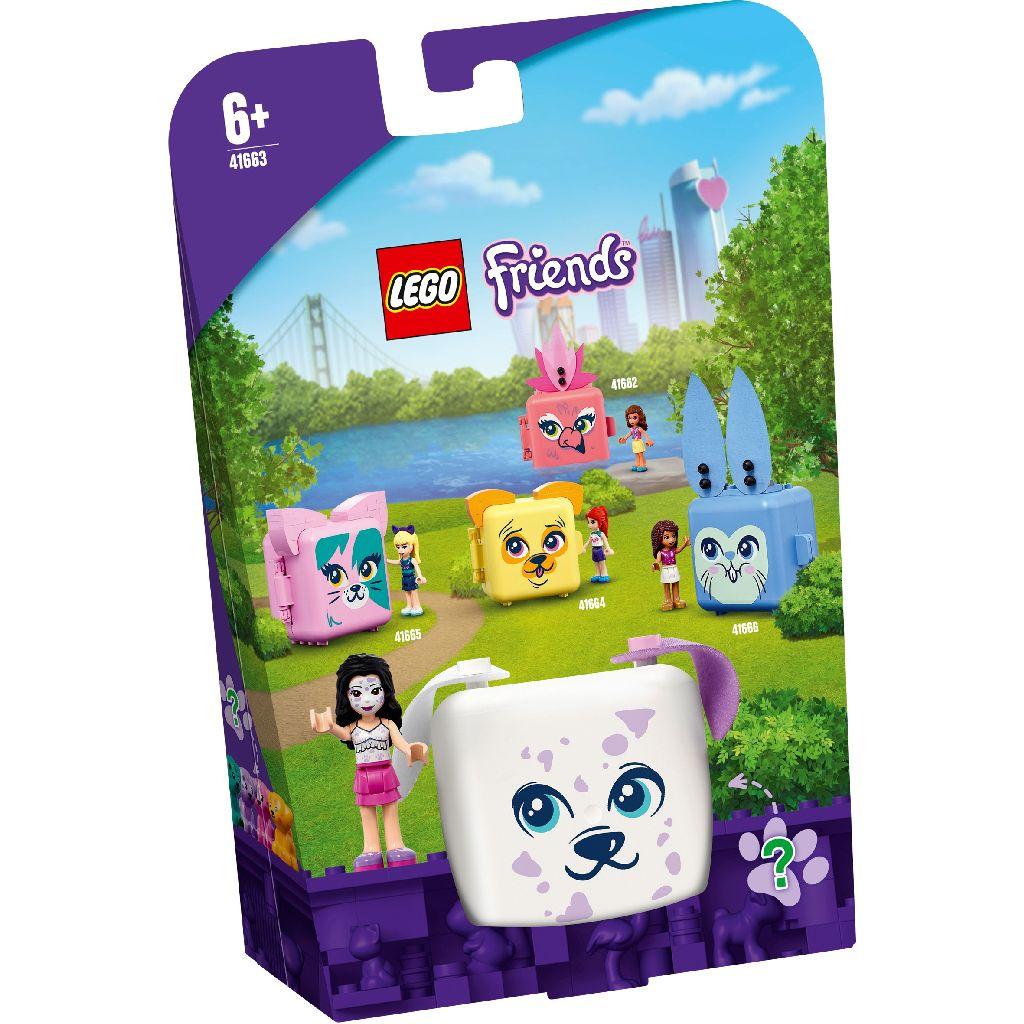 【2021.1月新品】LEGO 樂高積木 Friends 41663 寵物秘密寶盒-艾瑪的大麥町