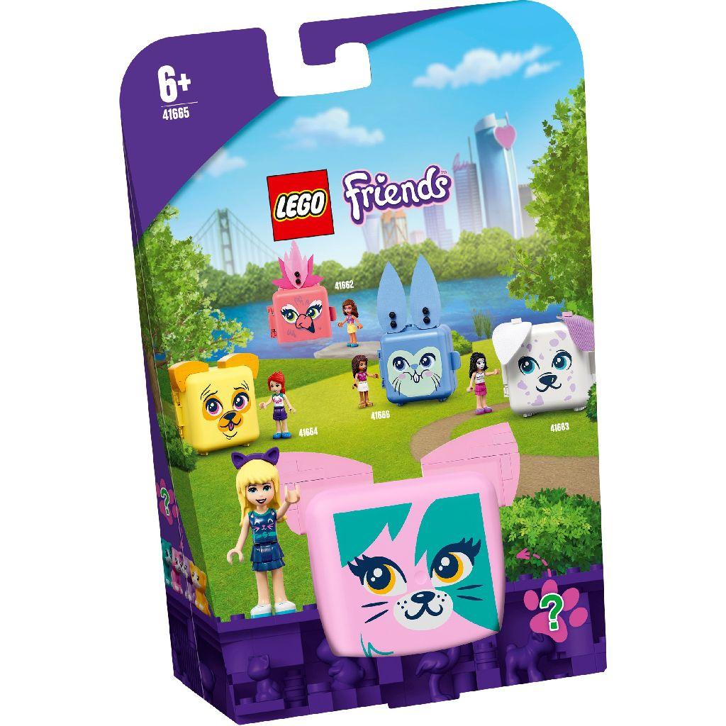【2021.1月新品】LEGO 樂高積木 Friends 41665 寵物秘密寶盒-斯蒂芬妮的貓咪