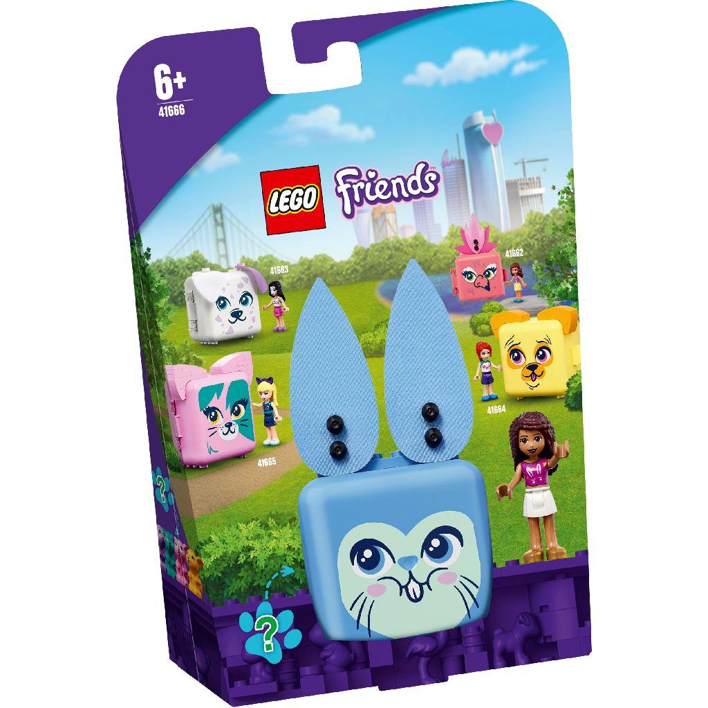 【2021.1月新品】LEGO 樂高積木 Friends 41666 寵物秘密寶盒-安德里亞的兔子