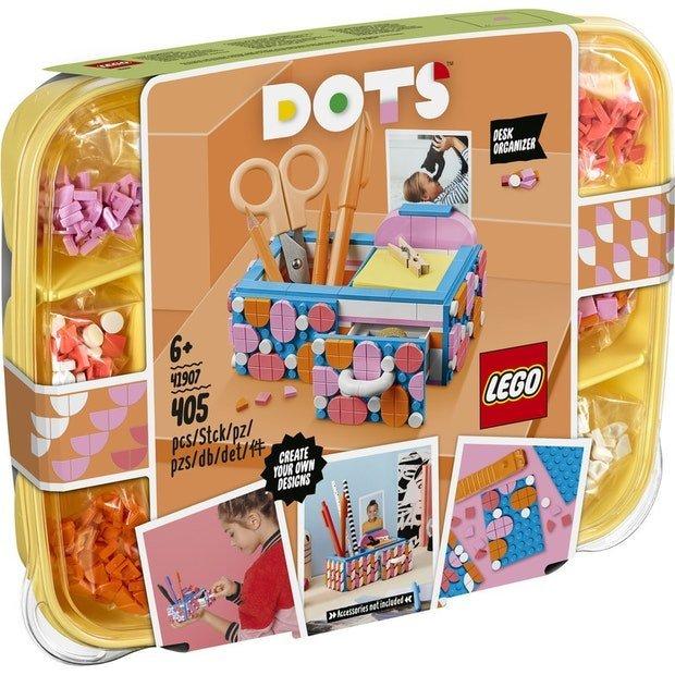 LEGO DOTS 豆豆系列 41907 繽紛豆豆收納盒