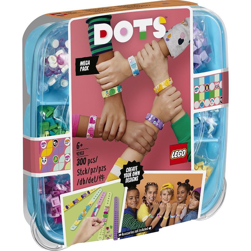 LEGO DOTS 豆豆系列 41913 豆豆手環超值組