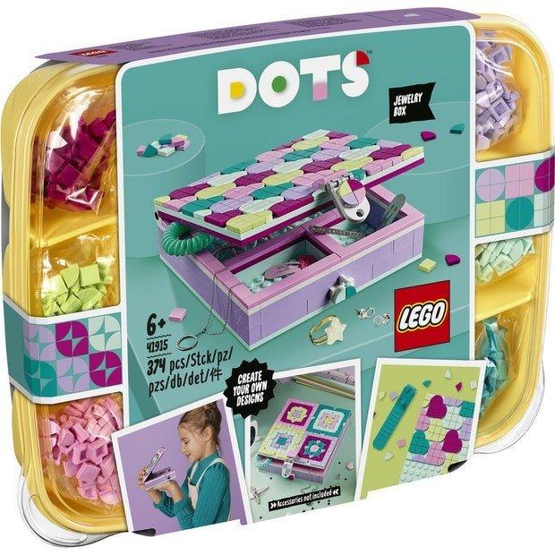 LEGO DOTS 豆豆系列 41915 五彩豆豆珠寶盒