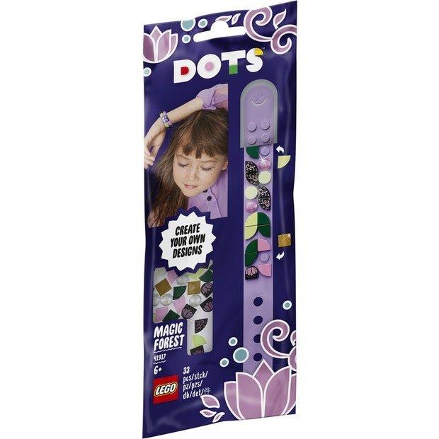 LEGO DOTS 豆豆系列 41917 豆豆手環 魔法森林