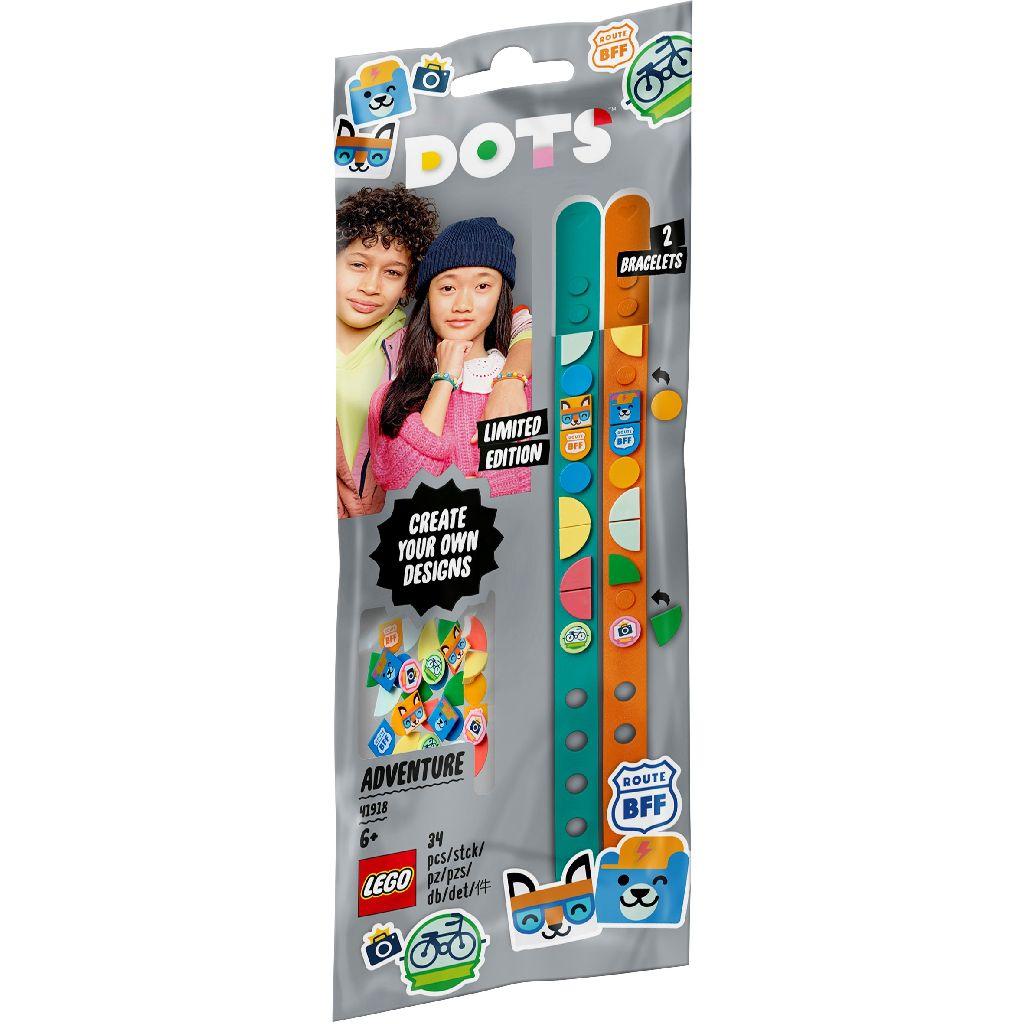 【2021.1月新品】LEGO 樂高積木 DOTS 豆豆系列 41918 冒險手環