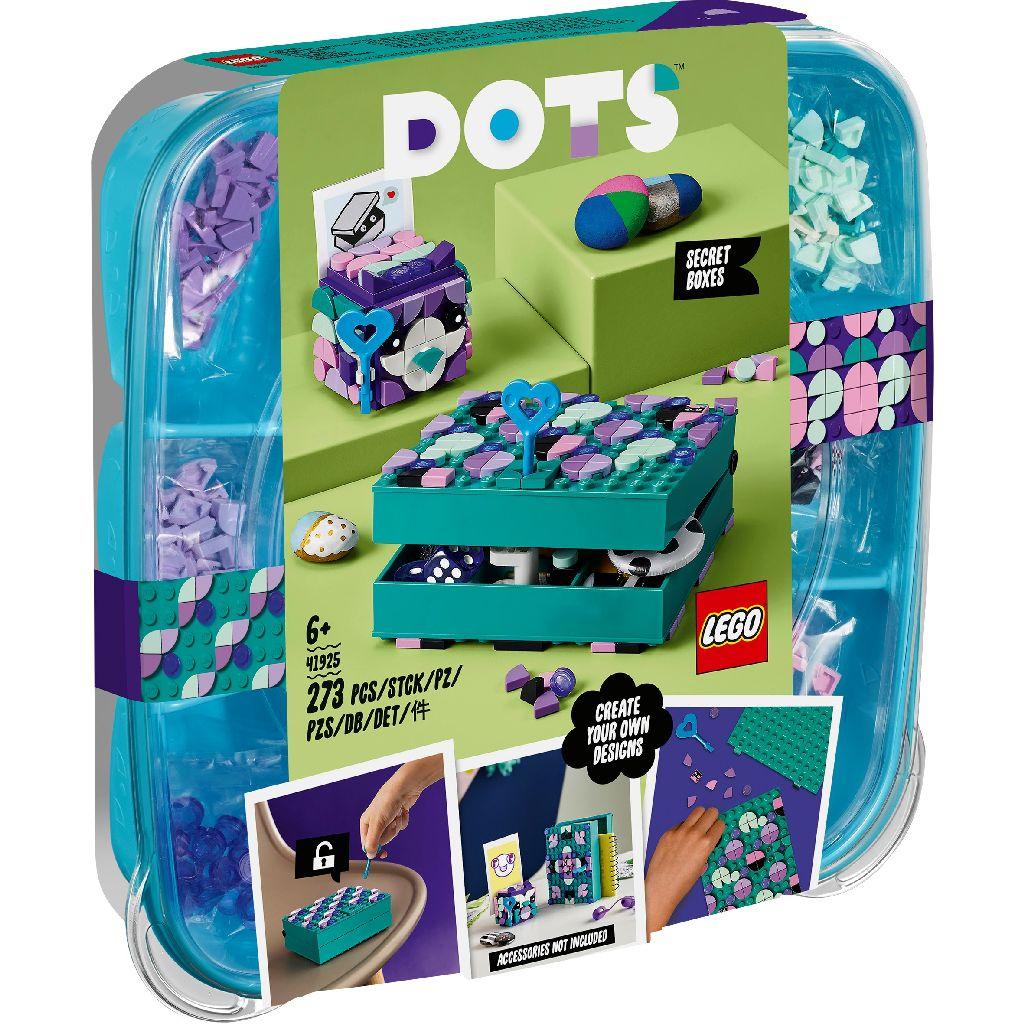 【2021.1月新品】LEGO 樂高積木 DOTS 豆豆系列 41925 秘密盒子