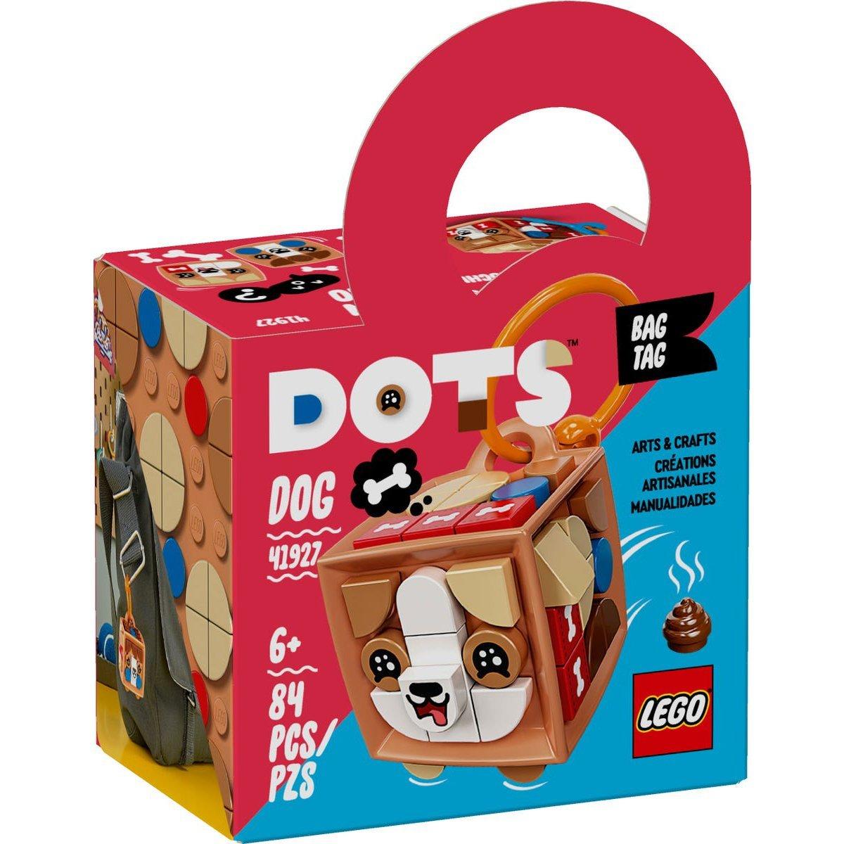 LEGO 樂高積木 DOTS 豆豆系列 41927 行李吊牌-狗狗