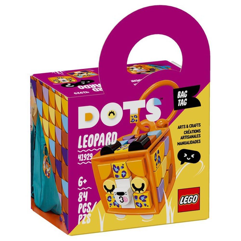 LEGO 樂高積木 DOTS 豆豆系列 41929 行李吊牌-豹