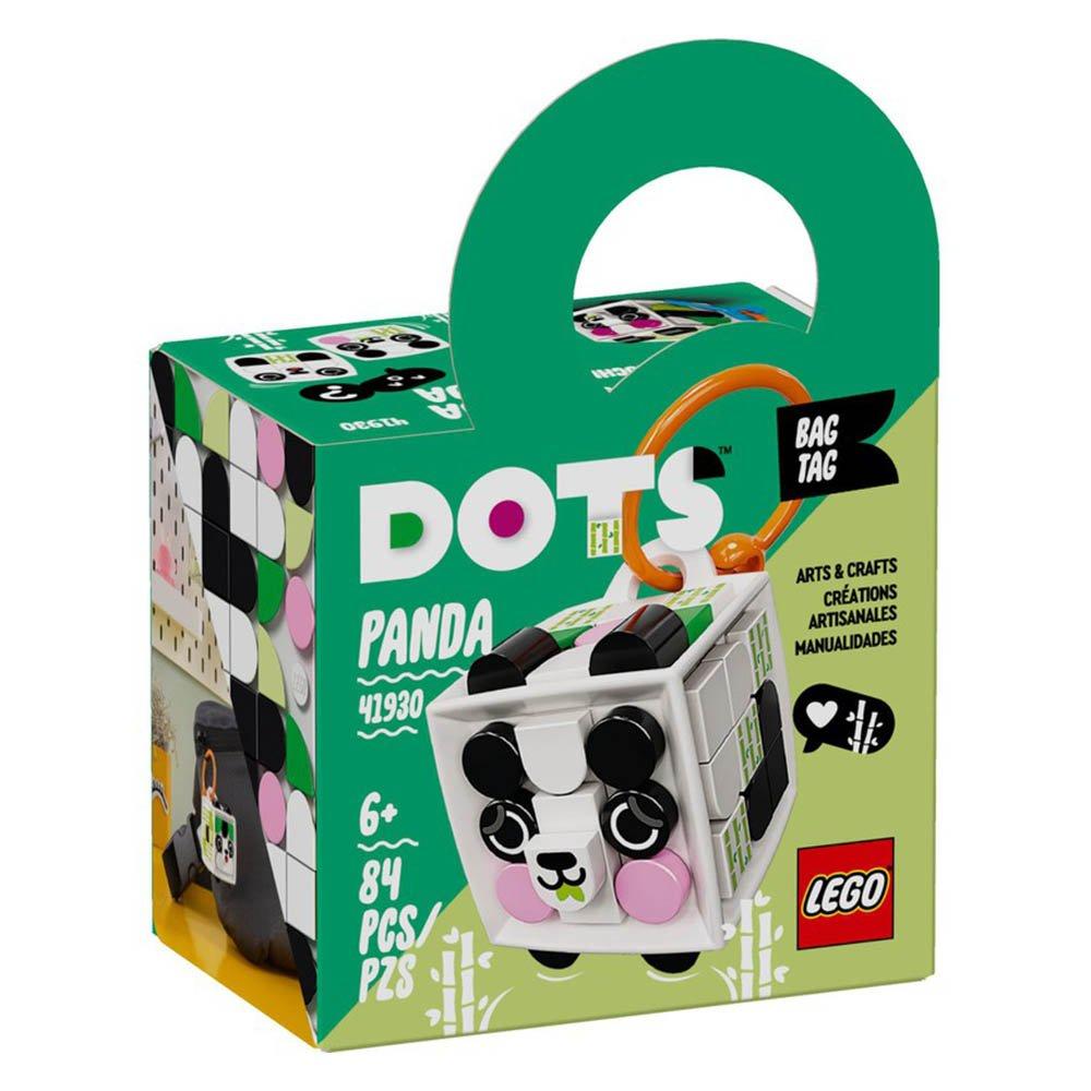 LEGO 樂高積木 DOTS 豆豆系列 41930 行李吊牌-熊貓