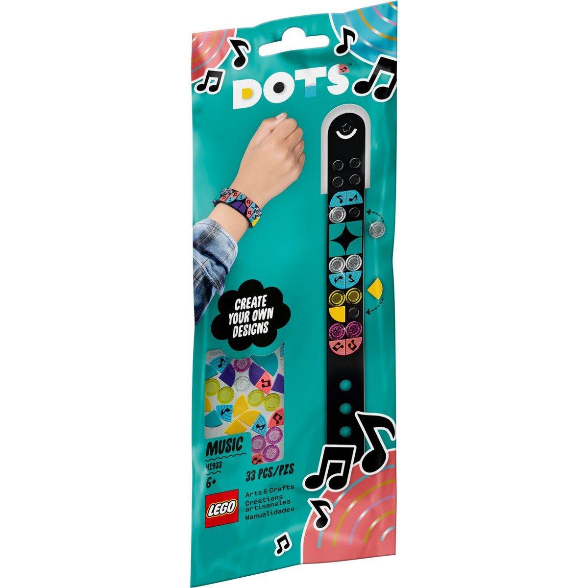 LEGO 樂高積木 DOTS 豆豆系列 41933 豆豆手環-美妙音符