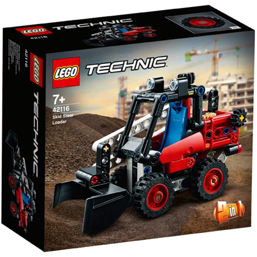 【2021.1月新品】LEGO 樂高積木 Technic 42116 滑移鏟裝機