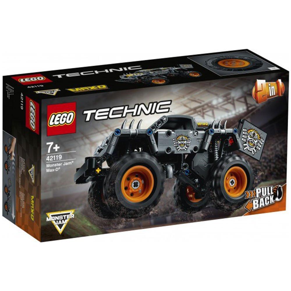 【2021.1月新品】LEGO 樂高積木 Technic 42119 Monster Jam® Max-D®