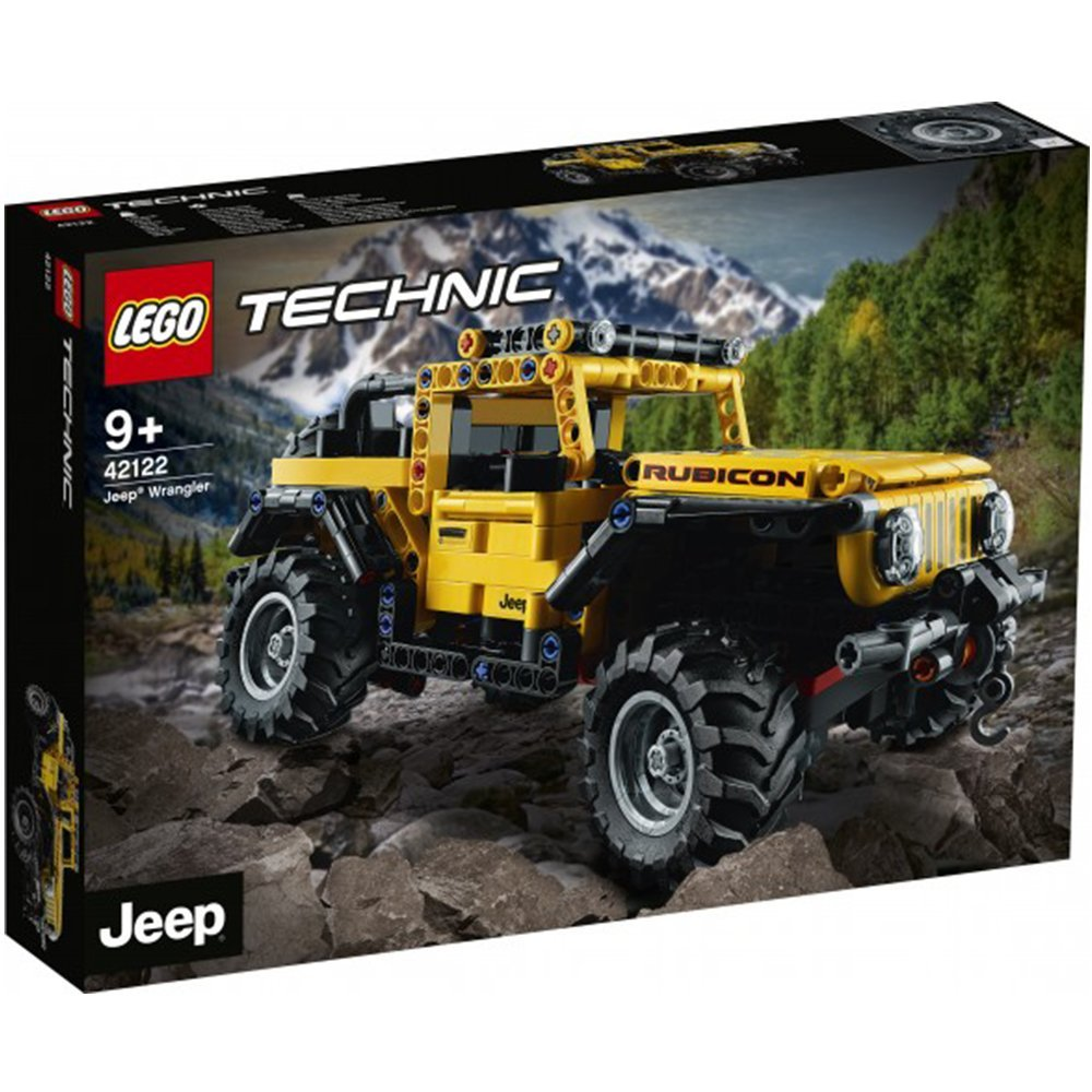 【2021.1月新品】LEGO 樂高積木 Technic 42122 Jeep® Wrangler