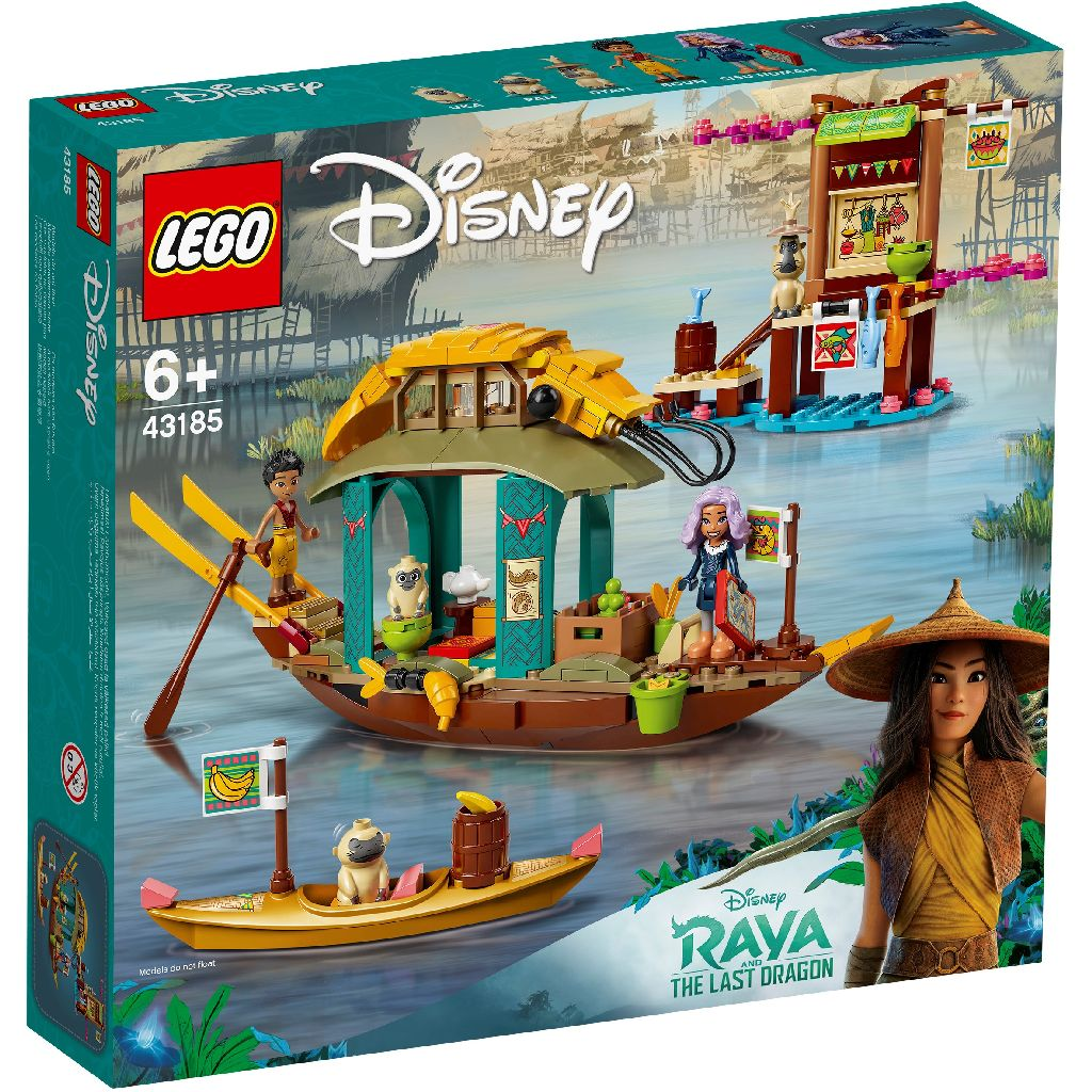LEGO 樂高積木 Disney Princess 43185 Boun's Boat
