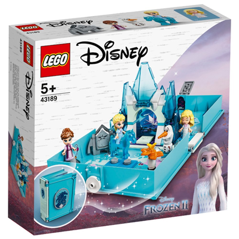 【2021.1月新品】LEGO 樂高積木 Disney Princess 43189 Elsa and the Nokk Storybook Adventures