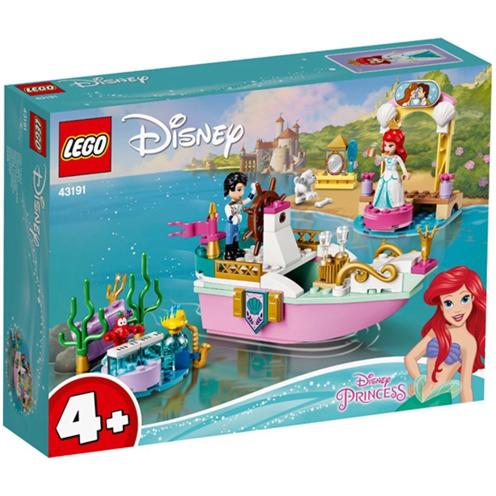 【2021.1月新品】LEGO 樂高積木 Disney Princess 43191 Ariel's Celebration Boat