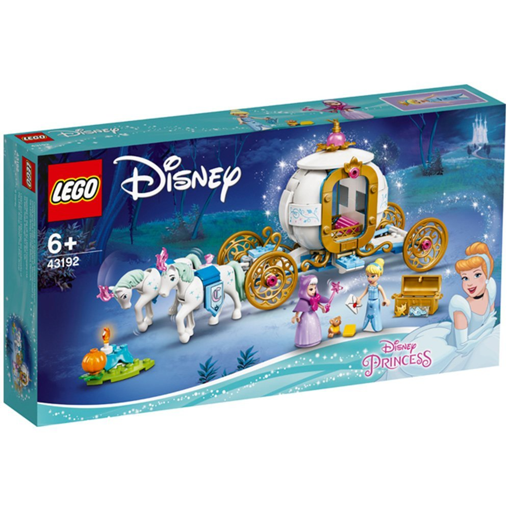 【2021.1月新品】LEGO 樂高積木 Disney Princess 43192 Cinderella's Royal Carriage