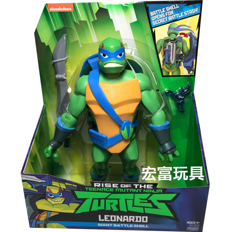 全新忍者龜 巨型公仔系列 LEONARDO