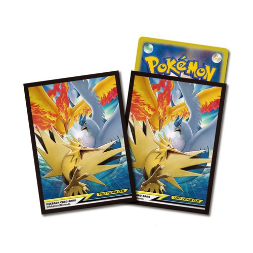 神奇寶貝 卡牌收集卡套Pokemon 64 - Deck Shield - TAG TEAM GX - Fire & Thunder & Freezer