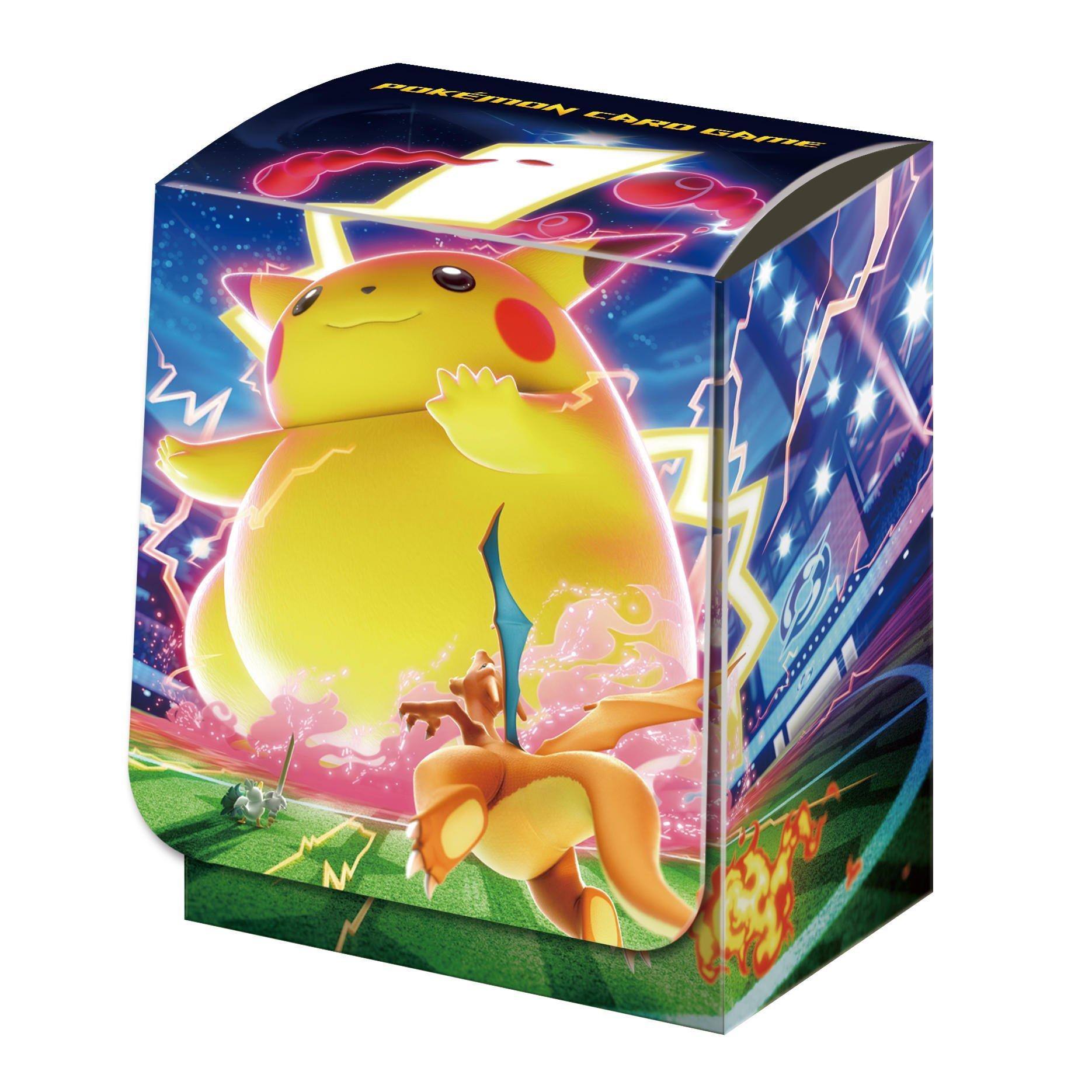 神奇寶貝 卡牌收集盒 Pokemon Deck Box Case 極巨化皮卡丘