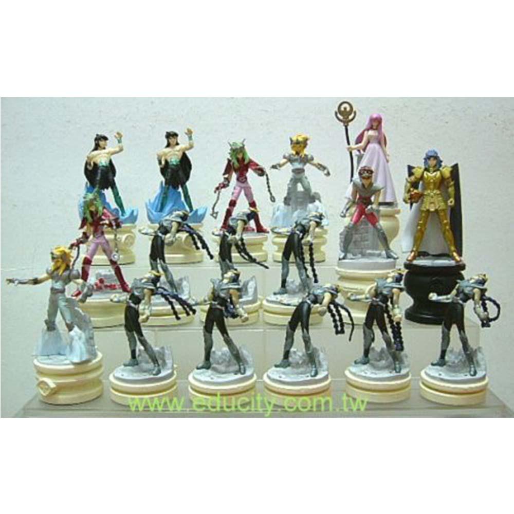 聖鬥士星矢西洋棋座1大全套共22款