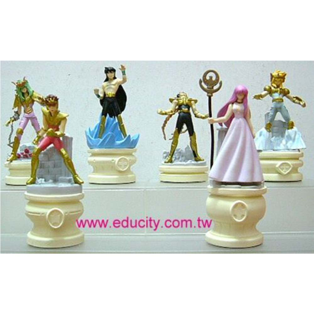 聖鬥士星矢西洋棋座1 -金色版6款