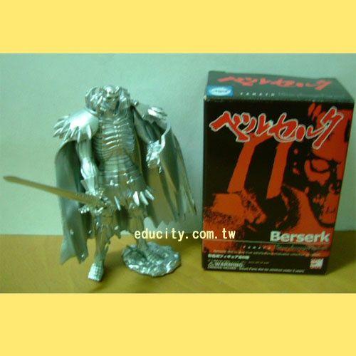 食玩**烙印勇士Knight of Skeleton(銀色版)