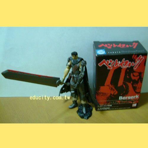 食玩**烙印勇士Guts Black swordsman(濺血版)