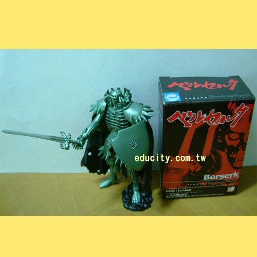 食玩**烙印勇士Knight of Skeleton(濺血版)
