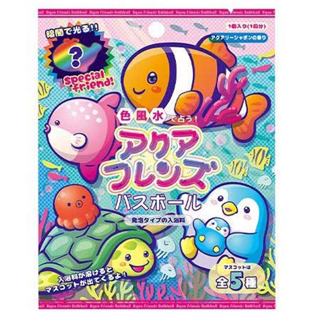 可愛海洋動物入浴球