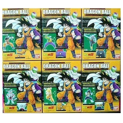 BANDAI 盒玩 七龍珠磁鐵可動人形組 /一組6隻