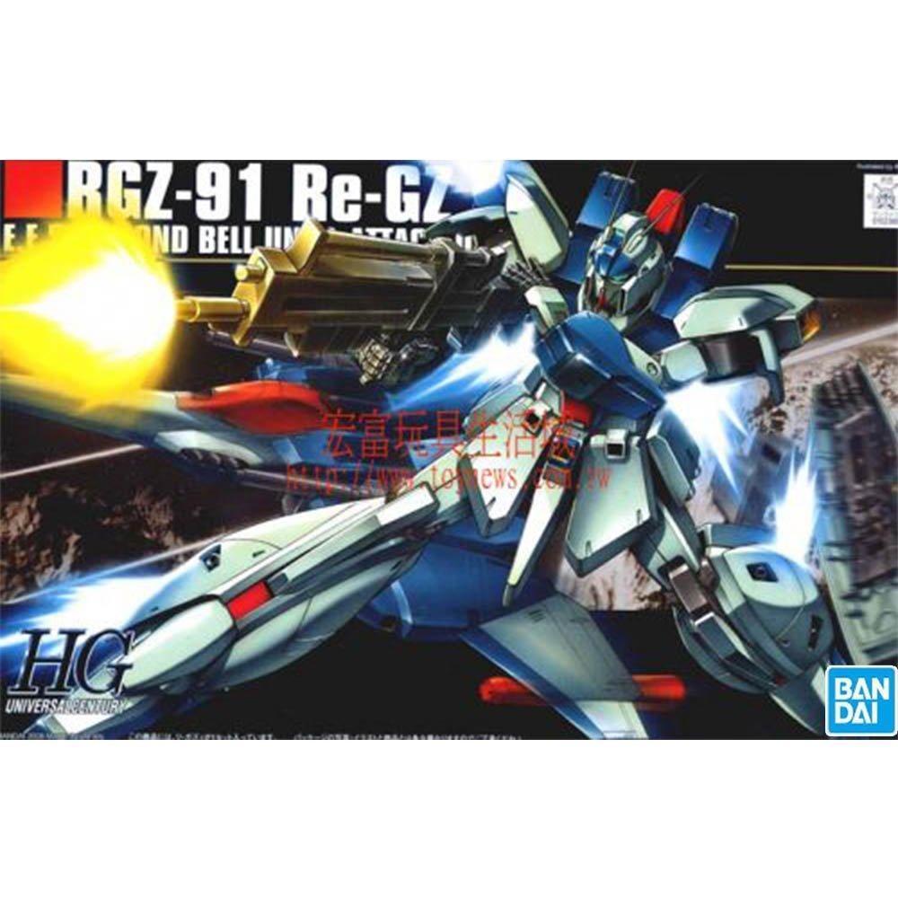 鋼彈gundam組合模型 HGUC1/144 #85 RGZ-91 RE-GZ