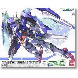 BANDAI 鋼彈 能天使系列1/100 #17 00強化模組 設計師配色版