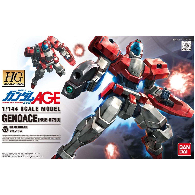 BANDAI 鋼彈組合模型 AGE HG 1/144 #03 傑諾亞斯