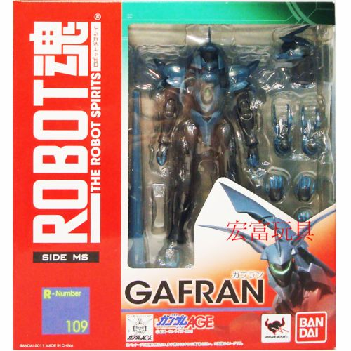 BANDAI 鋼彈gundam模型 ROBOT魂#109 未知的侵略者 加夫蘭