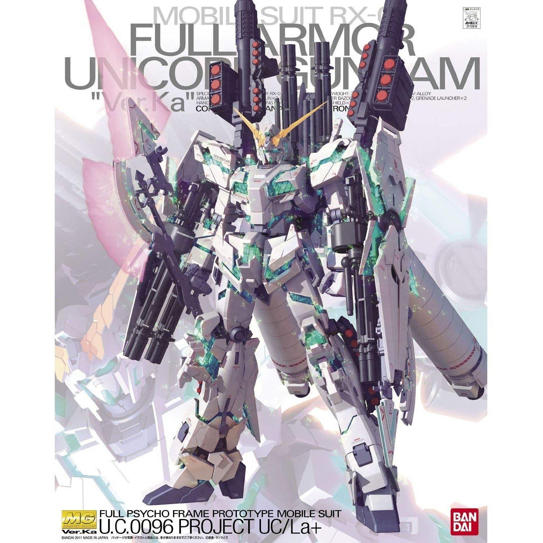 BANDAI 鋼彈組合模型 MG版 1/100 RX-0 全武裝獨角獸鋼彈 Ver.Ka