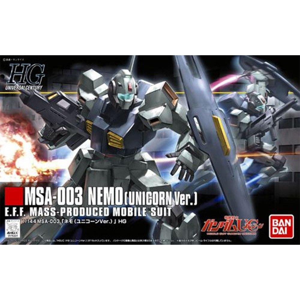 鋼彈gundam組合模型 HGUC 1/144 #140 尼摩MSA-003 NEMO