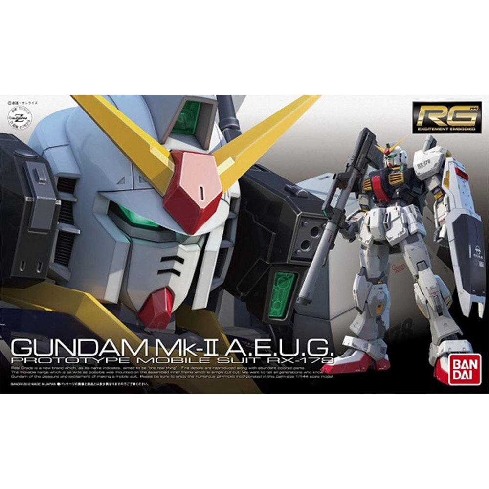 鋼彈gundam組合模型 RG版 1/144 #08 RX-178 鋼彈MK-II 幽谷