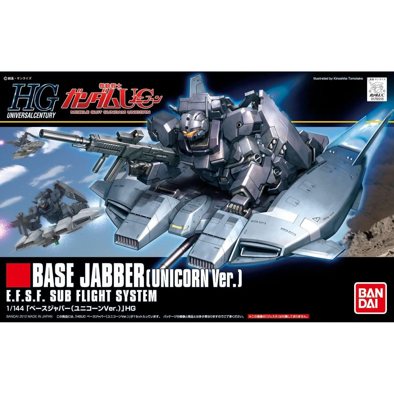 BANDAI 鋼彈組合模型 HGUC 1/144 #144 UC基底承載機