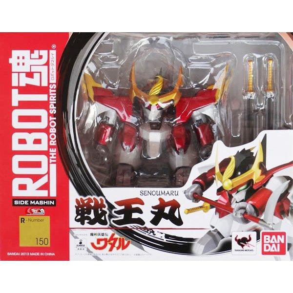 BANDAI 鋼彈模型 ROBOT魂 #150 魔神英雄傳 戰王丸 先進號 席巴