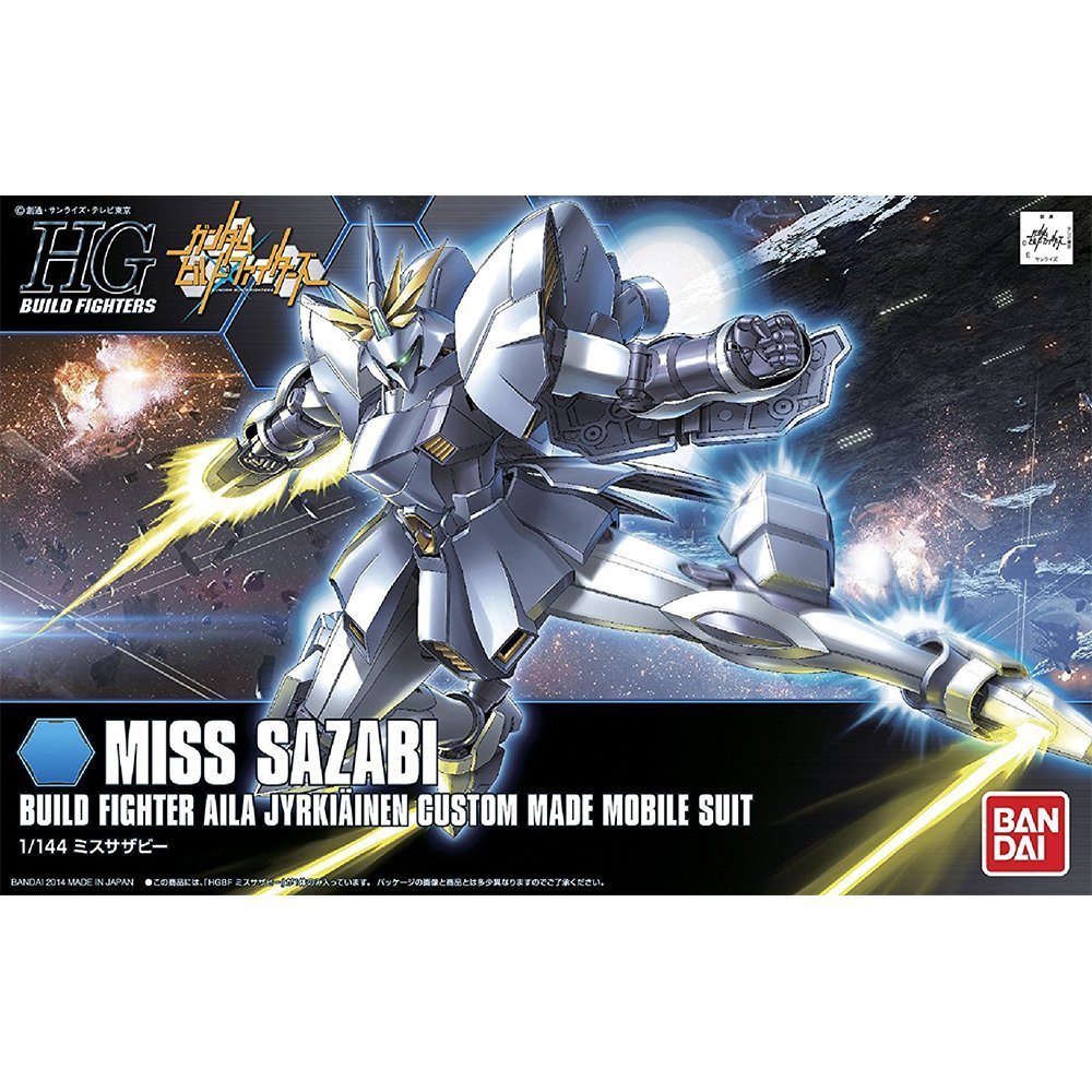 鋼彈gundam組合模型 HGBF 1/144創鬥者 #012 沙薩比小姐