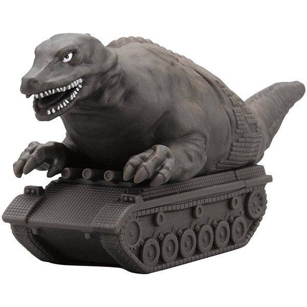 超人力霸王怪獸軟膠恐龍坦克
