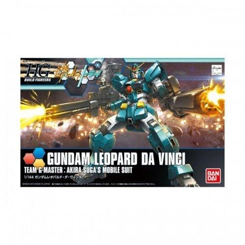 BANDAI 鋼彈gundam組合模型 HGBF 1/144 創鬥者 #042 斑豹鋼彈