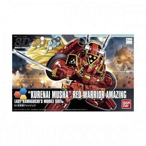 BANDAI 鋼彈組合模型 SDBF 1/144 創鬥者 #041 驚異紅武者