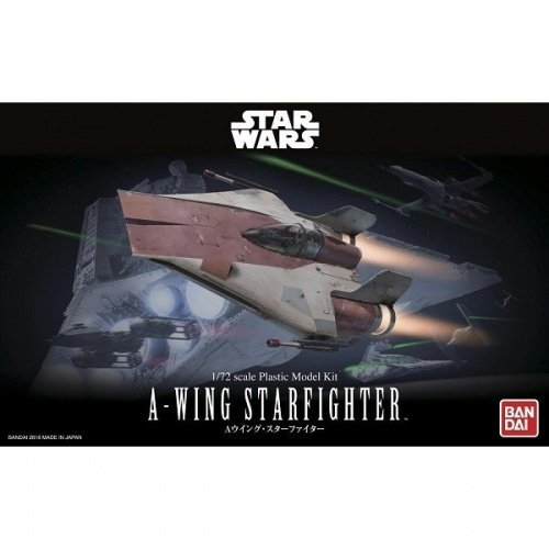 BANDAI 鋼彈組合模型 STAR WARS 1/72 A翼星式戰機