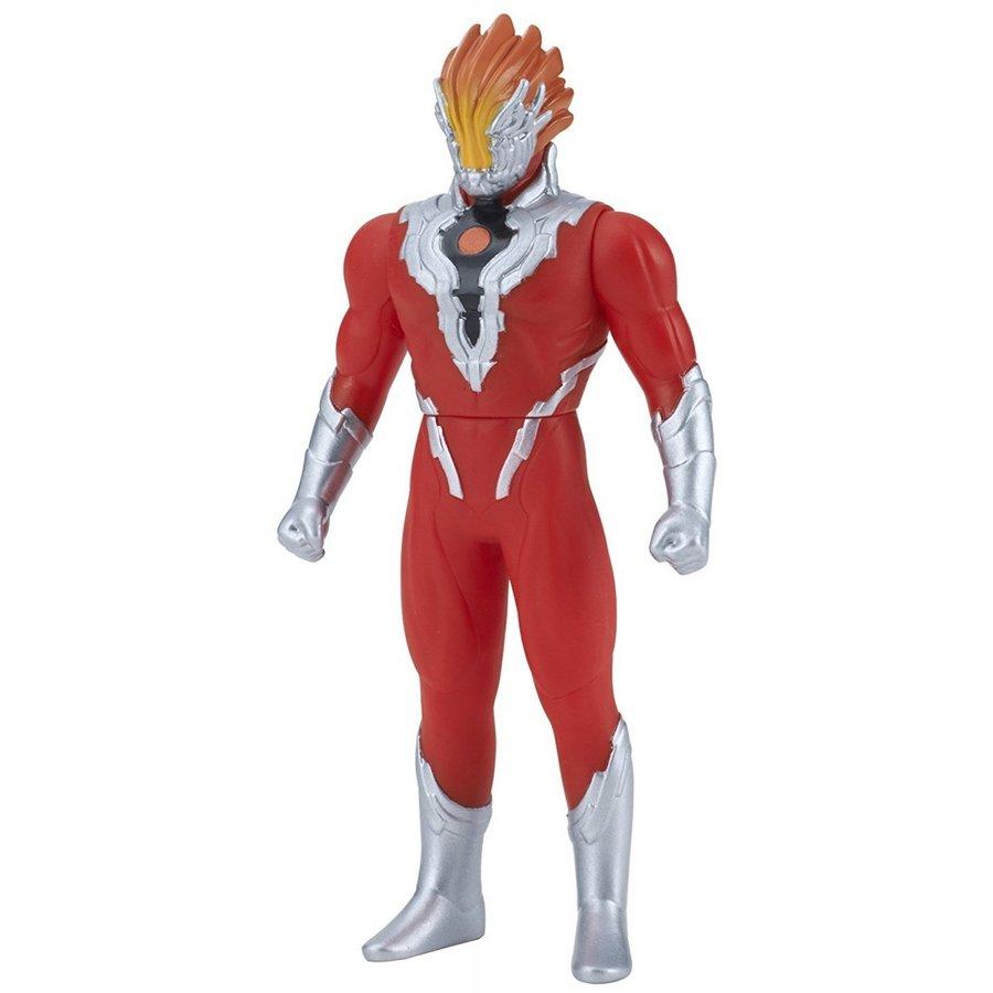 超人力霸王英雄軟膠 #37 火焰戰士