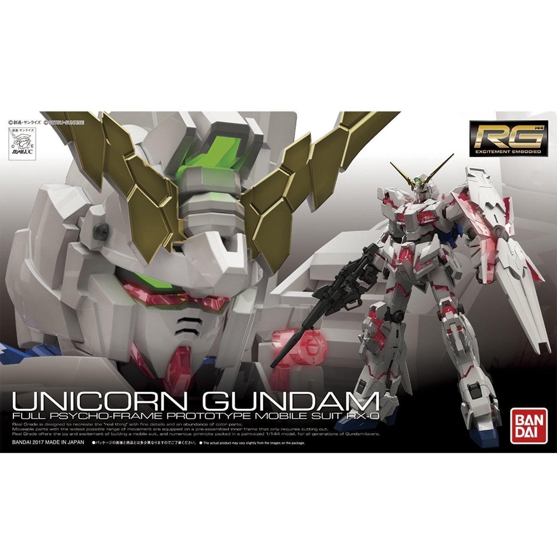 鋼彈gundam組合模型 RG版 1/144 #25 獨角獸鋼彈